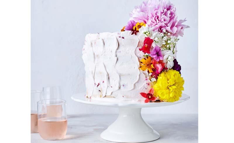 Confetti Flower Cake