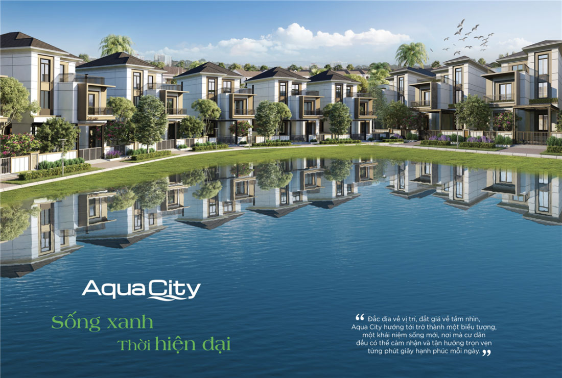 Phân Khu The Suite Aqua City