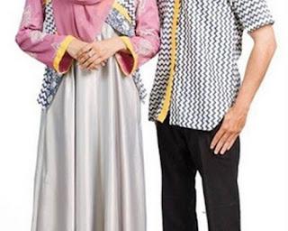 model baju gamis couple modern