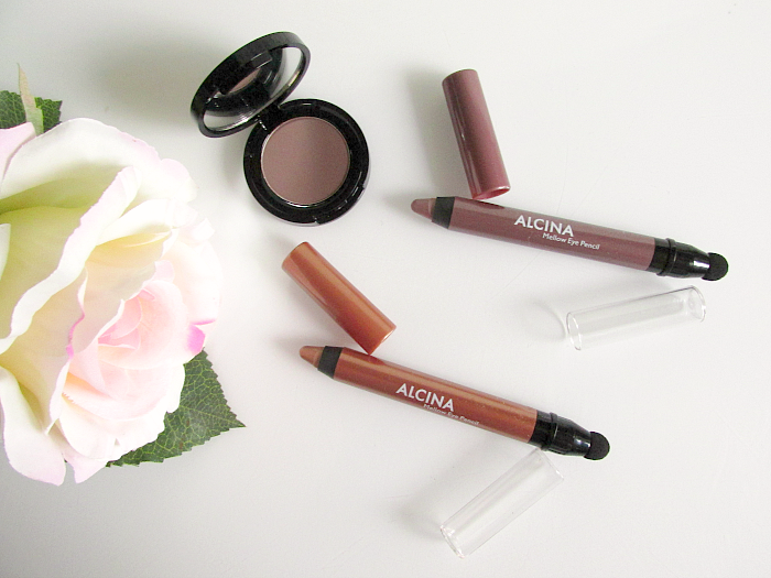 Review: ALCINA Mellow Eye Pencil Caramel & Macaroon , Splendid Eyeshadow Cacao - Herbst / Winter 2016