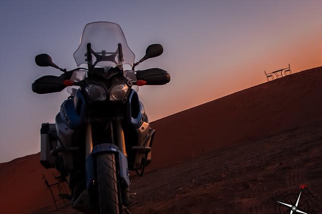 anochece en las dunas