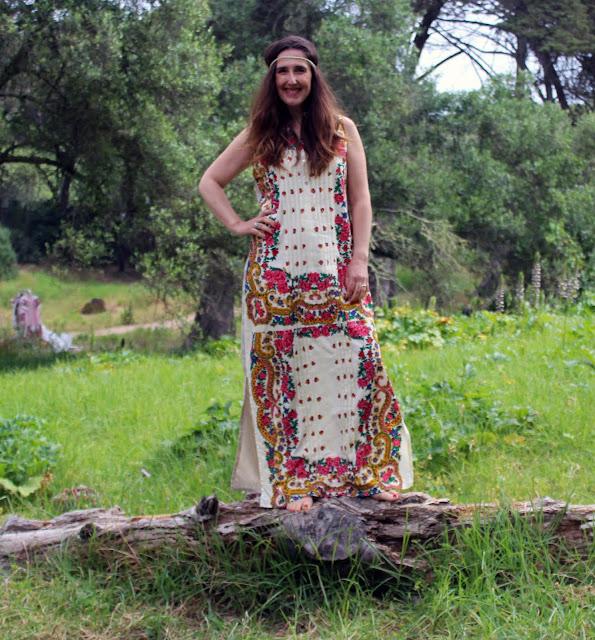 Vestido comprido - Linhas D'Anjo