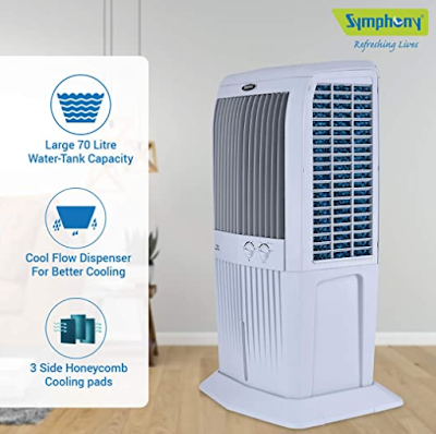 Symphony Storm 70XL-G Air Cooler for Fresh and Filtered Cool Air Flow