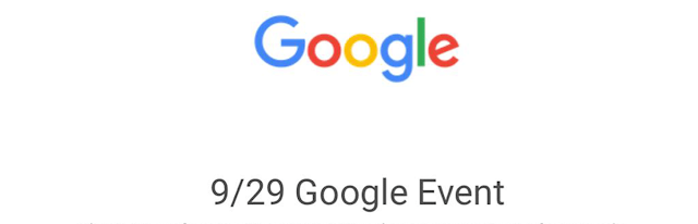 Google Issues Invitations to Nexus Smartphone Event on Sept. 29 , Google sends invites for September 29 event, new Nexus and Chromecast devices expected. Google's next event will be held September 2
