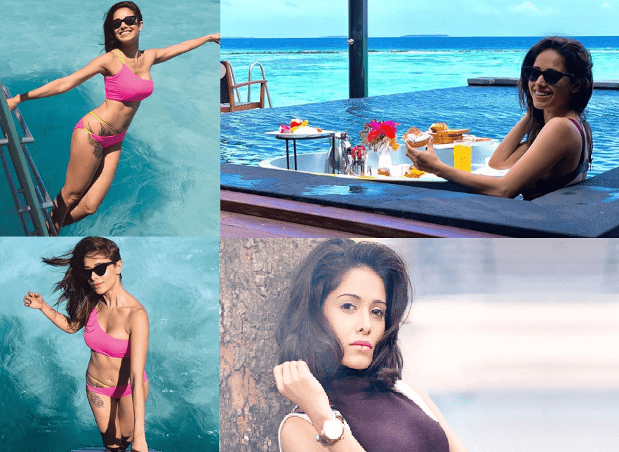 Nushrat Bharucha Bollywood Actress Lockdown Test with her Mother