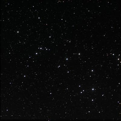 RASC Finest NGC, open cluster 6633 in colour