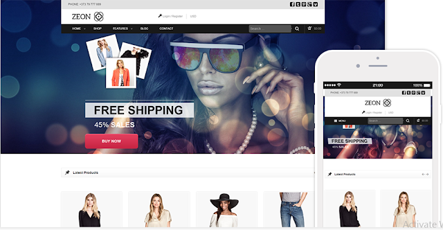 Zeon Wordpress WooCommerce Themes