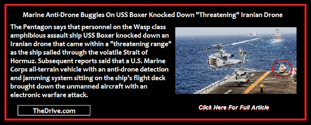 Marines onboard USS Boxer knock down iranian drone