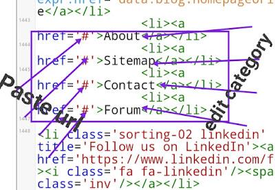 Blog ke menu baar ko edit kaise kare? full janakari 2019-Tec India Sandeep.