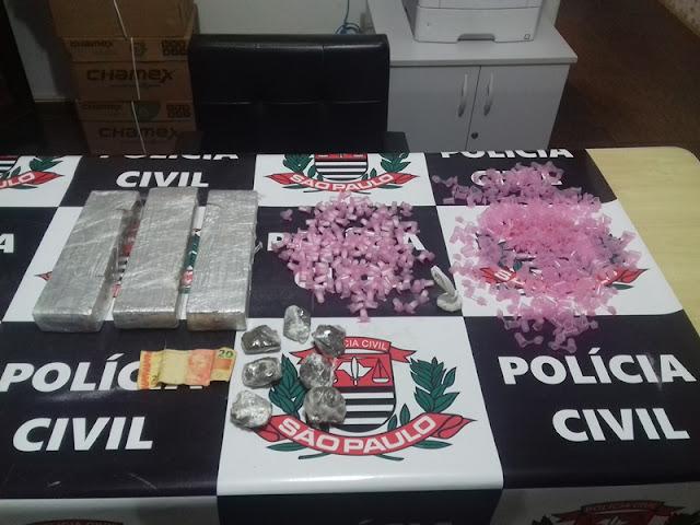 POLÍCIA CIVIL DE REGISTRO-SP ESTOURA PONTO DE ARMAZENAMENTO E TRÁFICO DE DROGAS
