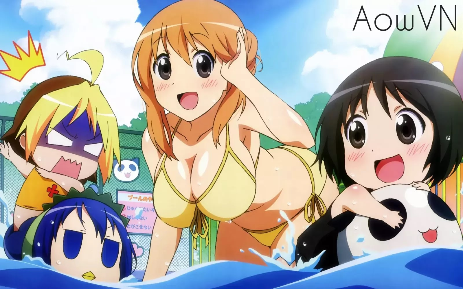 SLpo1zi - [ Anime 3gp Mp4 ] Hanamaru Youchien | Vietsub - Moe Chibi