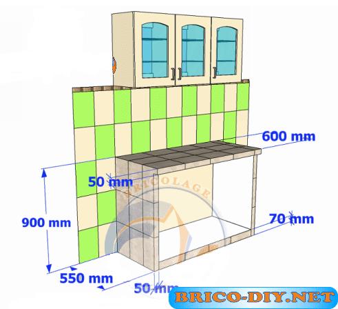 bricolaje muebles de cocina