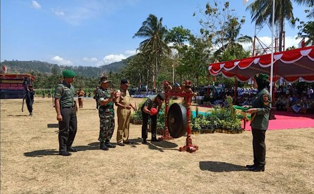 Panglima Kodam V/Brawijaya | kegiatan TMMD ke 106 tahun 2019
