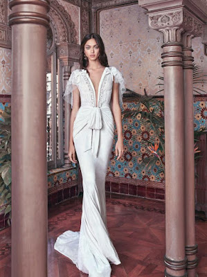 K'Mich Weddings - wedding planning - white wedding dresses - velvet - galia lahav-fall-2019