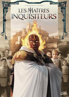 BD Les Maîtres-Inquisiteurs tome 7 de Sylvain Cordurié et Andrea Cuneo.