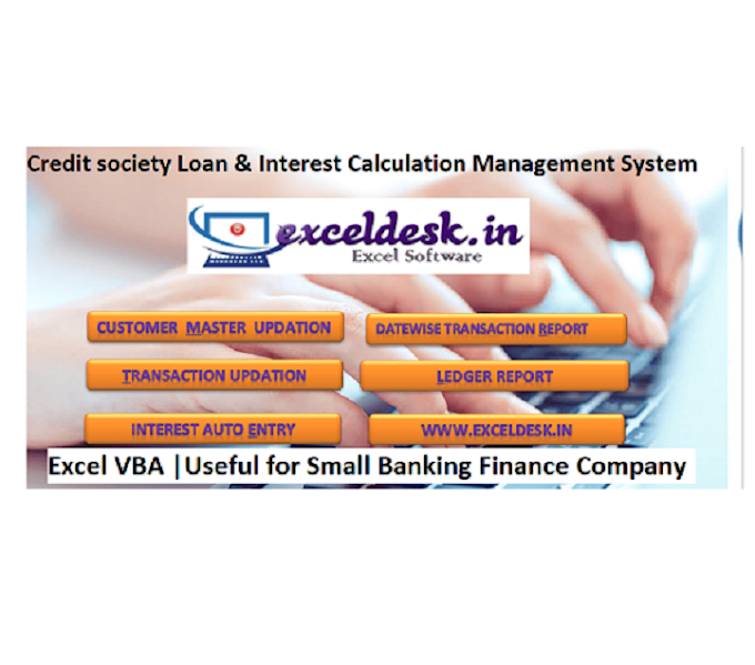 Credit society Loan & Interest Calculation