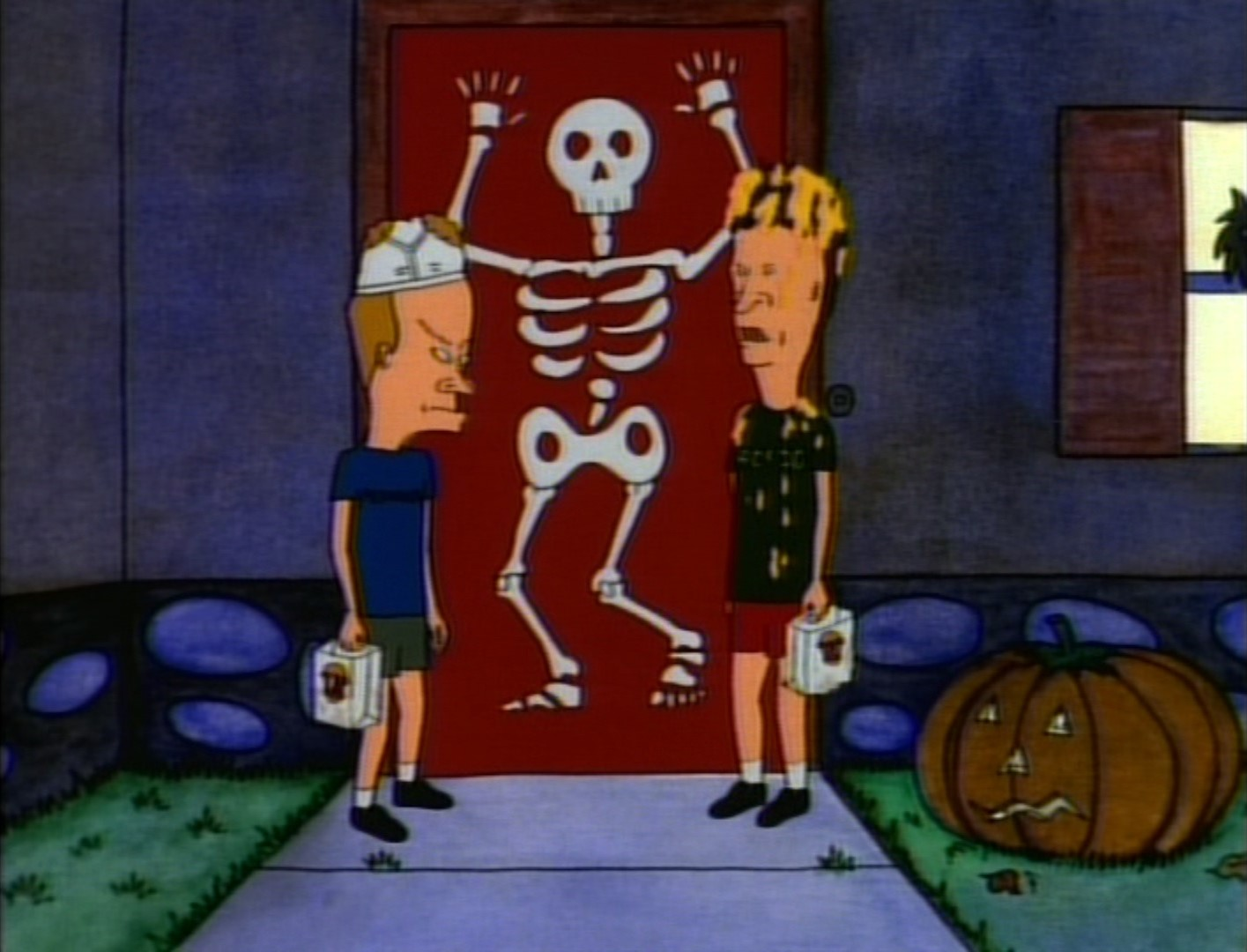 "holiday film reviews: beavis and butt-head: ""bungholio: lord of the"