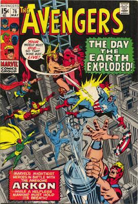 Avengers #76, Arkon