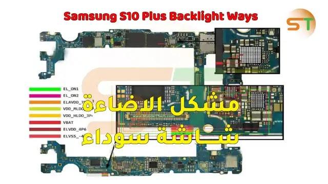 Samsung S10 Plus Backlight Ways