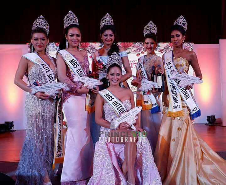The Pageant Crown Ranking: Mrs  International 2017