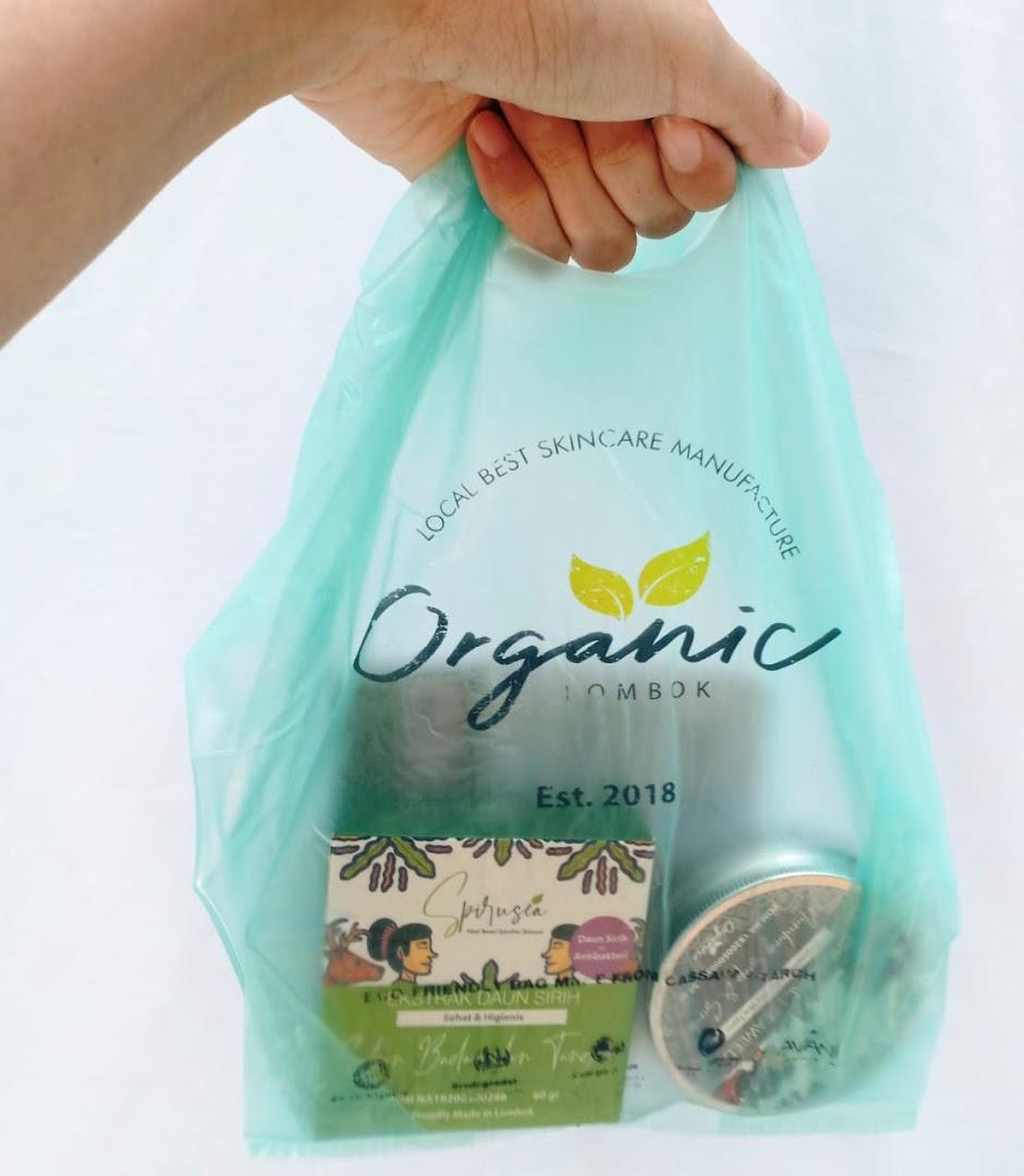 Organic Lombok Spirusea Skincare Alami Anti Jerawat
