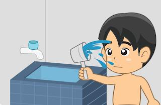 niat mandi wajib dan artinya