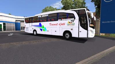 Livery Kramat Djati for Jetbus M. Annas Cvt FPS