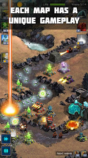 Ancient Planet Tower Defense APK MOD v1.1.12 (Unlimited Money)