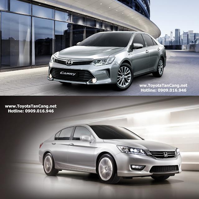 Bạn chọn Toyota Camry hay Honda Accord ?