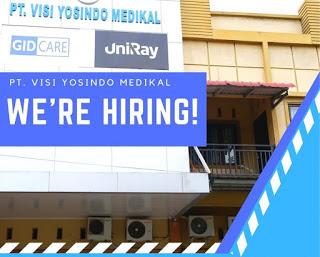 Lowongan PT Visi Yosindo Medikal Pekanbaru April 2021