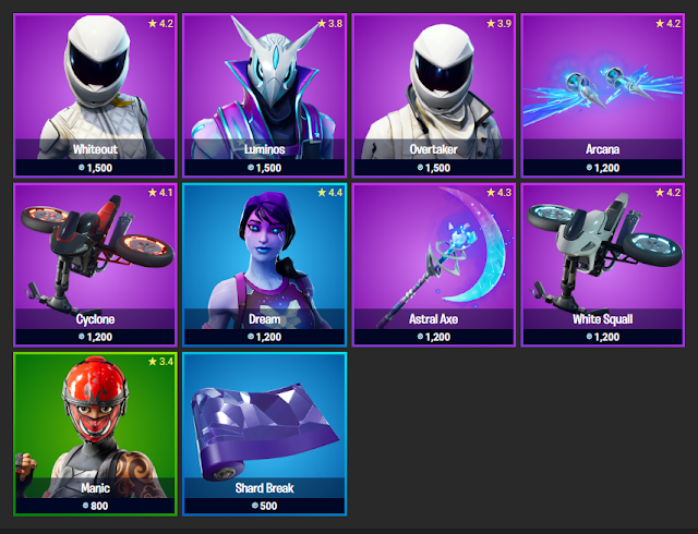 Fortnite Item Shop November 12, 2019