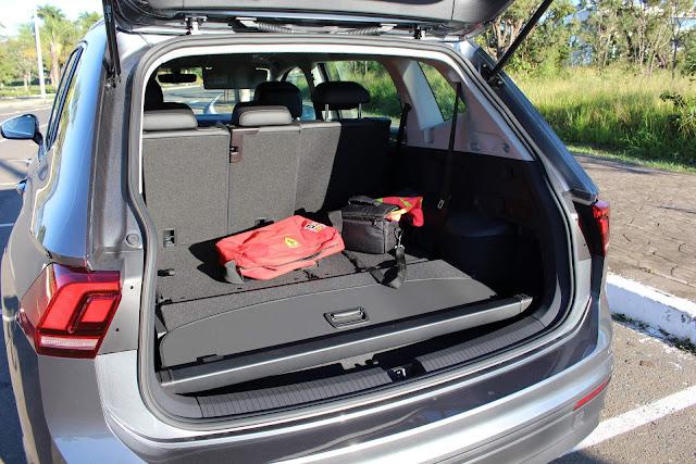 Volkswagen Tiguan 2019 Flex 7 lugares - porta-malas