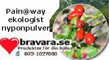 Nyponpulver Pain@way ekologiskt