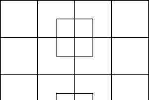 Masalah Matematika I : Berapa banyak Persegi  yang dapat ditemukan dari gambar berikut ?