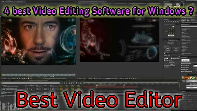 4 Best Software for Video Editing ? How I edit my videos for YouTube