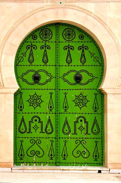 What is Bridget Beari Dreaming about.... Tunisian doors!