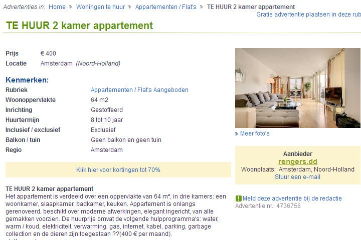 wohnungsbetrug.blogspot.com: rengers.dd TE HUUR 2 kamer appartement ...