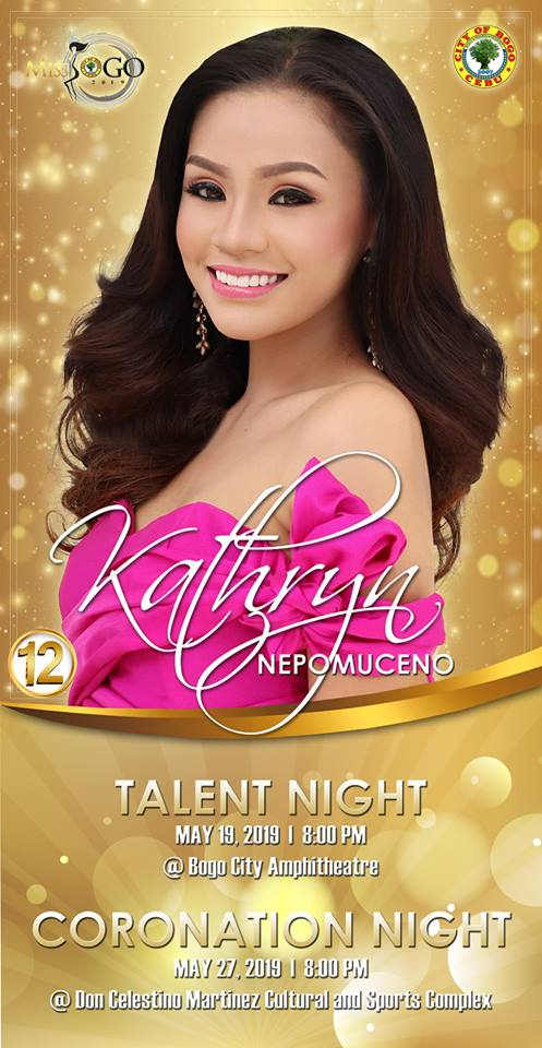 KATHRYN NEPOMUCENO Candidate #12