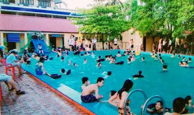 Bể bơi Khách sạn Bắc Giang