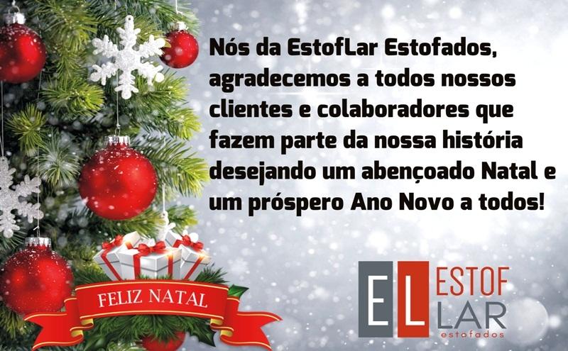 EstofLar deseja a todos um Feliz Natal e Próspero Ano Novo