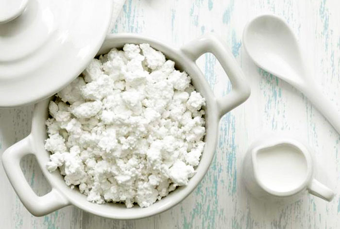Manufacturing of cottage cheese