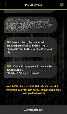 """Mission beendet App """"Operation Helix"""" zum Roman von Marc Elsberg"""