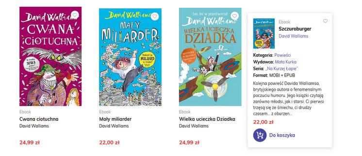 Mała Kurka, e-booki