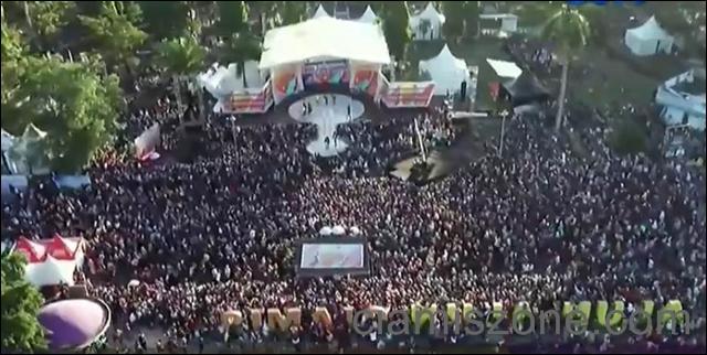 Meriah, Ribuan Massa Sambut Karnaval SCTV