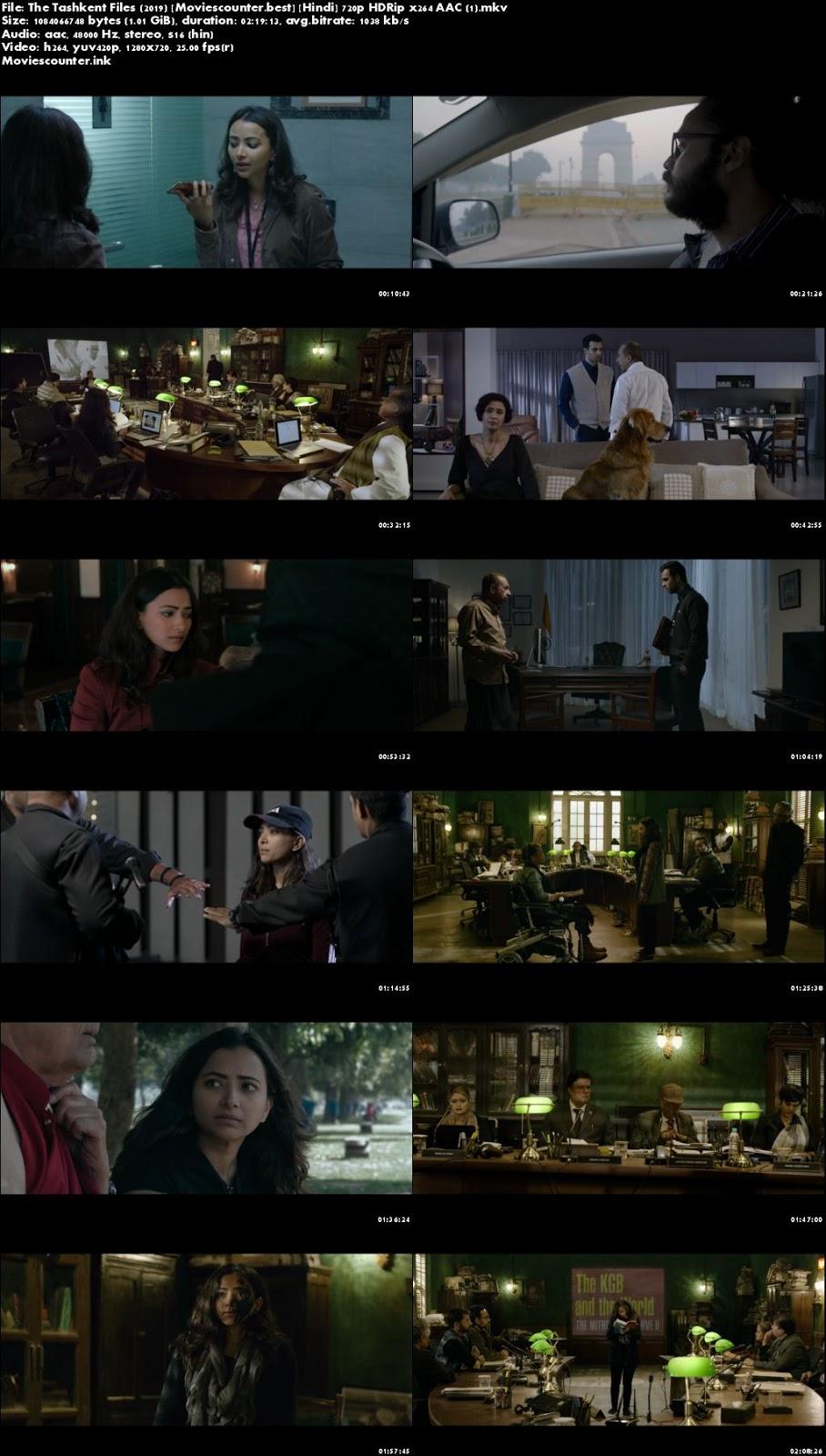 Screen Shots The Tashkent Files 2019 Hindi HD 720p