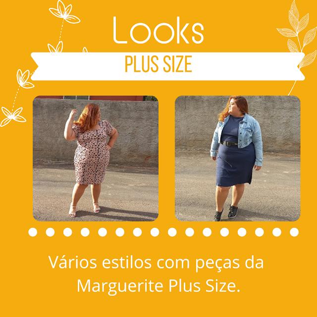 3 looks plus size incriveis da Marguerite