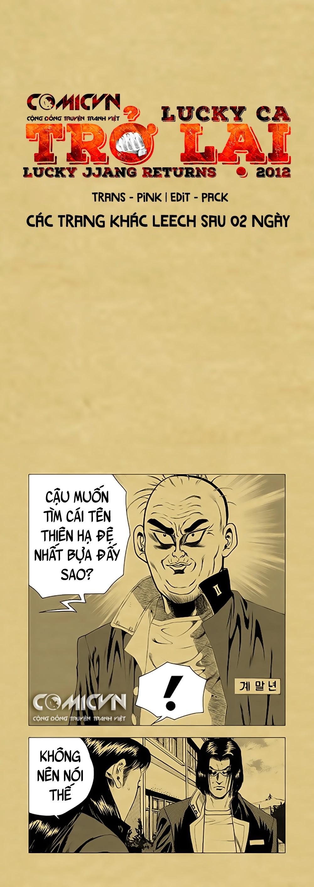 Lucky Ca Trở Lại - Lucky Jjang Returns 2012 Chap 19 . Next Chap 20