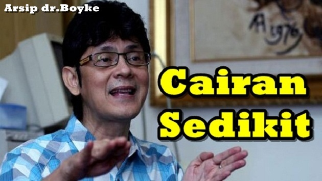 CAIRAN SEDIKIT - Konsultasi Sex Dokter Boyke