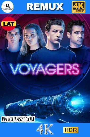 Viajeros (Voyagers) (2021) Ultra HD REMUX 4K HDR Dual-Latino VIP