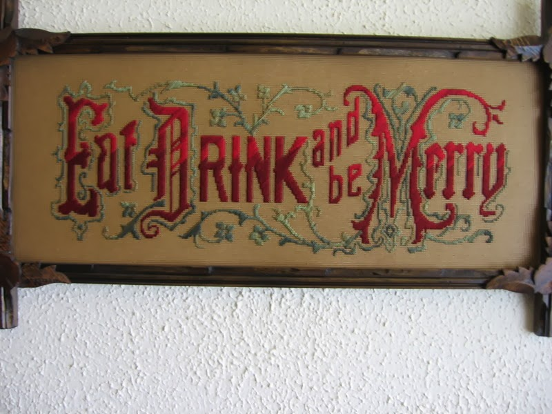 Eat Drink and be Merry motto kit